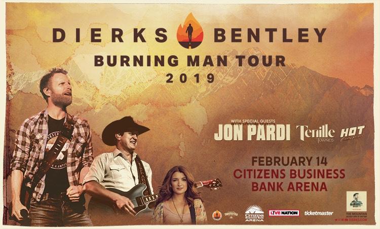 Dierks Bentley 2 14 19 Burning Man Tour Review Rock